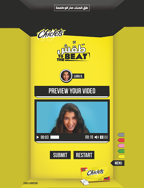 Chiclets karaoke iOS Android App