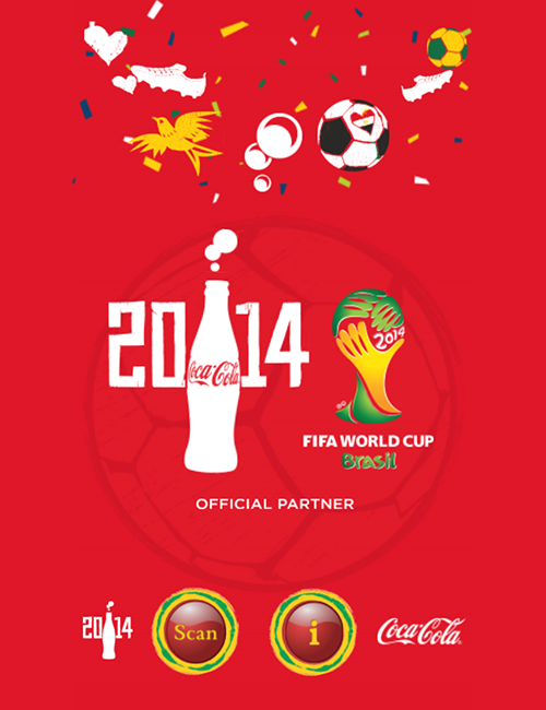Coca-Cola Egypt WorldCup Augmented Reality App